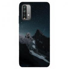 """Xiaomi Redmi 9T TPU dėklas unikaliu dizainu 1.0 mm """"u-case Airskin Mountains 1 design"""""""