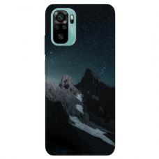 """Xiaomi Redmi Note 10/ 10s TPU dėklas unikaliu dizainu 1.0 mm """"u-case Airskin Mountains 1 design"""""""