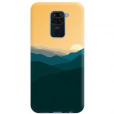 """Xiaomi Redmi Note 9 TPU dėklas unikaliu dizainu 1.0 mm """"u-case Airskin Mountains 2 design"""""""
