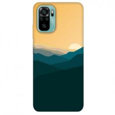 """Xiaomi Redmi Note 10/ 10s TPU dėklas unikaliu dizainu 1.0 mm """"u-case Airskin Mountains 2 design"""""""