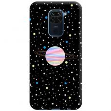 """Xiaomi redmi note 9 TPU dėklas unikaliu dizainu 1.0 mm """"u-case Airskin Planet design"""""""