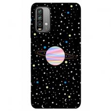 """Xiaomi redmi 9T TPU dėklas unikaliu dizainu 1.0 mm """"u-case Airskin Planet design"""""""