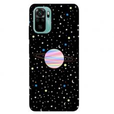 """Xiaomi Redmi Note 10/ 10s TPU dėklas unikaliu dizainu 1.0 mm """"u-case Airskin Planet design"""""""