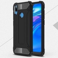 Huawei y6 2019 dėklas Armor Neo TPU+PC plastikas juodas