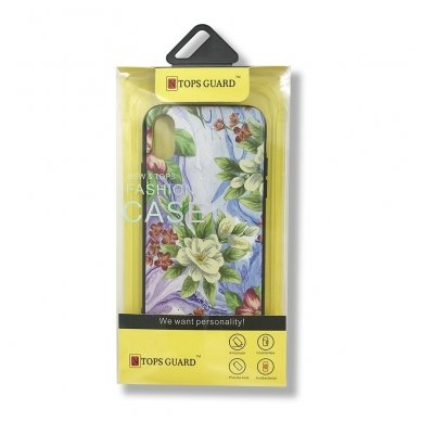 xiaomi mi a2 lite (redmi 6 pro) dėklas flowers silikonas 3