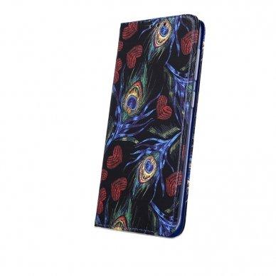 Iphone 7 / Iphone 8 atverčiamas dėklas SMART TRENDY Peacock